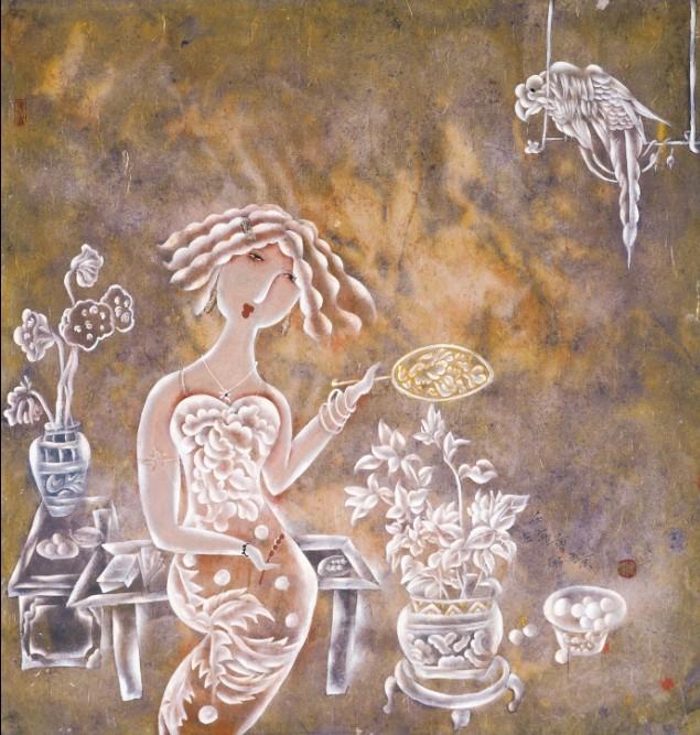 ...1日至17日厦门张雄书画院将隆重举办 著名女画家曹娜新作展