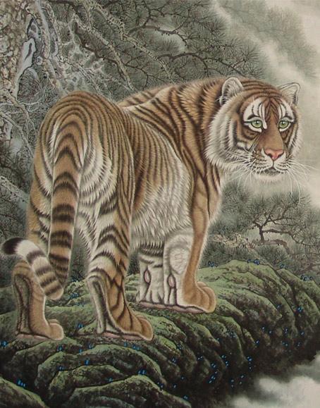 中国著名动物画家吕维超动物画精品展