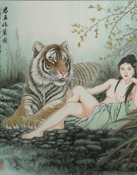 江山雄韵.中国著名动物画家吕维超动物画精品展