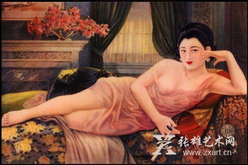 图揭民国时期的海报美女图片