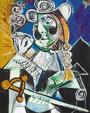 《斗牛士》 毕加索作品