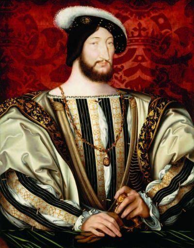 法国国王弗朗索瓦一世像