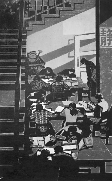 新中国工业版画:几代人中国梦的缩影