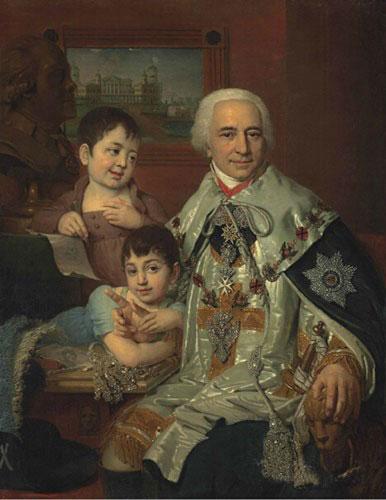 波罗维柯夫斯基作品,此次成交价1,482,500英镑(图源自佳士得)