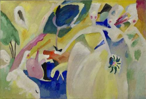 """""""康定斯基:抽象之前,1901-1911""""展览"""