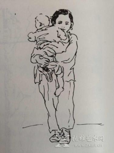 简笔画 手绘 线稿 375_500 竖版 竖屏
