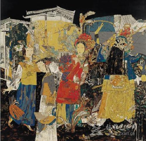 第十二届全国美展漆画展9月1日开展图片