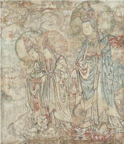 元/明朝时期的大型多彩壁画图片