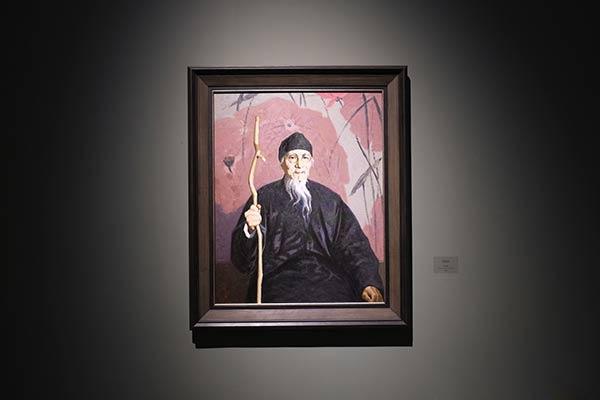 靳尚谊展览作品