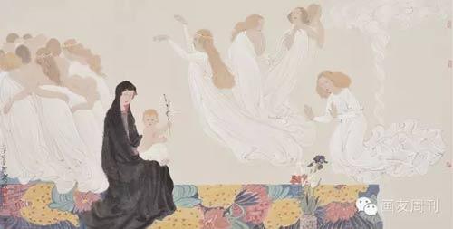 """""""中国风骨""""当代写意人物画名家邀请展将在李可染画院"""